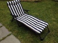 New comfortable Sun cushion lounger chair - 2 available