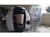BRAUN Tassimo Hot Beverage Machine with Tassimo disc stand