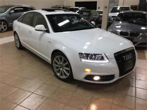 2010 AUDI A6 SLINE*CAMERA*BLUTOOTH*PADDLE*MOON*NO ACCIDENTS*AWD