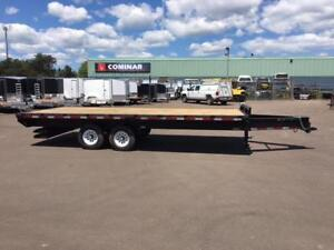 """NEW 2017 CARRY-ON 102"""" x 20' DECK-OVER TRAILER"""