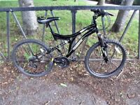 "24"" Wheel MUDDY FOX Suspension Mountain Bike. Fully Serviced, Ready To Ride & Guaranteed. 15"" Frame"