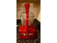 Red Magimix 4200XL Blender Mix Food Processor