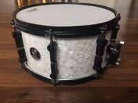 SONOR snare drum 13 x 7 black & white