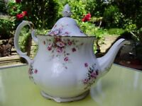 Royal Albert Cottage Garden Teapot, very beautiful and other teapots