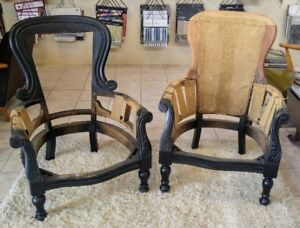 Newly Refinished Chair Frames