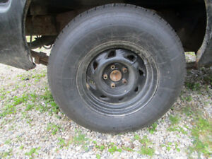 2 new 235/75/15 tires on s10 2 wheel drive rims