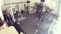 Personal training in private gym!