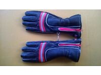 Motorcycle gloves by Frank Thomas - leather
