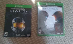 Halo 5 and Master chief collection in Kelowna
