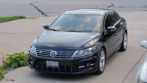 2013 VOLKSWAGEN CC HIGHLINE WITH R-LINE PACKAGE
