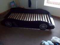 Childs single car bed