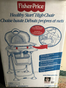 Fisher Price *Healthy Start High Chair*