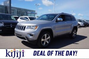 2016 Jeep Grand Cherokee AWD LIMITED Accident Free,  Leather,  B