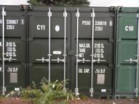 20ft x 8ft Self Storage Containers in Secure Yard - Dalkeith