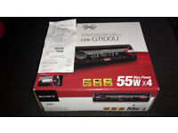 Sony CDX-G1100U Car Stereo - 4 X 55W - USB / AUX - CD / MP3 - Extra Bass – Red