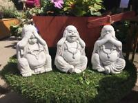 Stone items Buddha garden