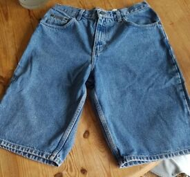 CK Denim Shorts