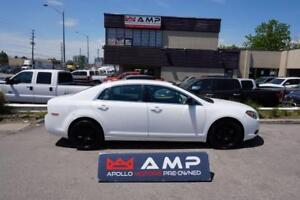 "2012 Chevrolet Malibu LS automatic with 17"" wheels."