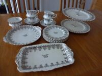 ROYAL ALBERT BONE CHINA 25th ANNIVERSARY SET