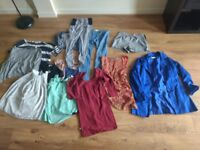 Large box of women's 8-10 clothes