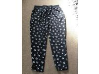 Maternity trousers size 12.