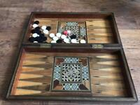 Backgammon handmade