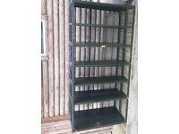 2 x Storage racking shelves, garage shed