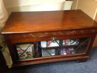 Solid wood tv cabinet stand