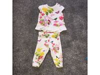 Baby girl ted baker outfit