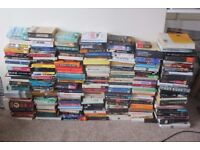 REDUCED FOR QUCK SALE - Job Lot of just Over 200 Books Novels Reference Non Fiction Biographies