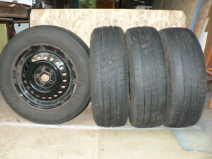 Four Federal summer tires