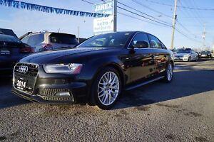 2014 Audi A4 2.0 Progressiv ACCIDENT FREE | S-LINE | NAVI | R...