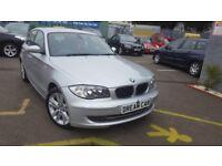 BMW 1 SERIES 123d SE (silver) 2008