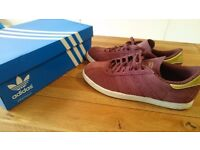 ORIGINAL ADIDAS TOBACCO TRAINERS UK9