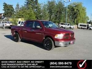 2012 DODGE RAM 1500 OUTDOORSMAN CREW CAB SHORT BOX 4X4