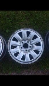 5x 114.3 steel wheels
