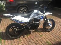 Lexmoto XFLM 125 GY-2B ADRENALINE, White, Good Condition, Low Mileage,2016 Model.