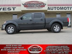 2012 Nissan Frontier SV CREW CAB 4X4, IMMACULATE MB TRUCK, LOADE