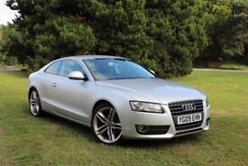 2009 AUDI A5 1.8 TFSI COUPE LOW MILES! FULL HISTORY! EXCELLENT EXAMPLE! NOT S LINE QUATTRO TDI