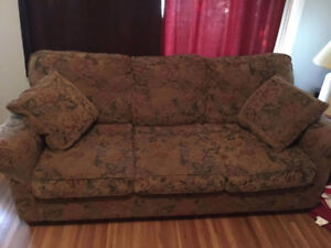 Couch and chair - great condition