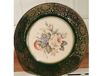 SALEM CHINA PLATE - 23KARAT GOLD