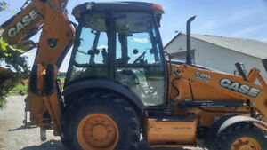 Case 580SN tractor Backhoe