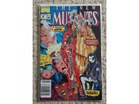 New Mutants 98. First appearance of Deadpool bagged and boarded