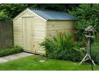 handmade timber garden sheds - better sheds by far - built to last
