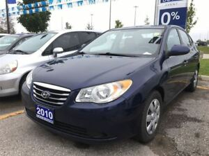 2010 Hyundai Elantra GL Accident Free | One Owner | Traction Con