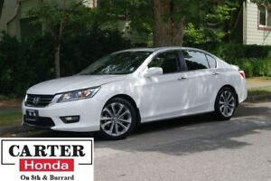 2015 Honda Accord Sport + LOW KMS + ACCIDENTS FREE + CERTIFIED!