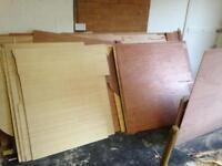 Plywood off cuts 5.5mm