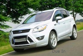 Due In: Ford Kuga titanium 4x4 2.0TDCi, with 40,000 miles, New MOT, and Serviced up to date