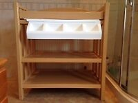 Baby changing table for nursery