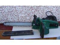Electric heavy duty chainsaw